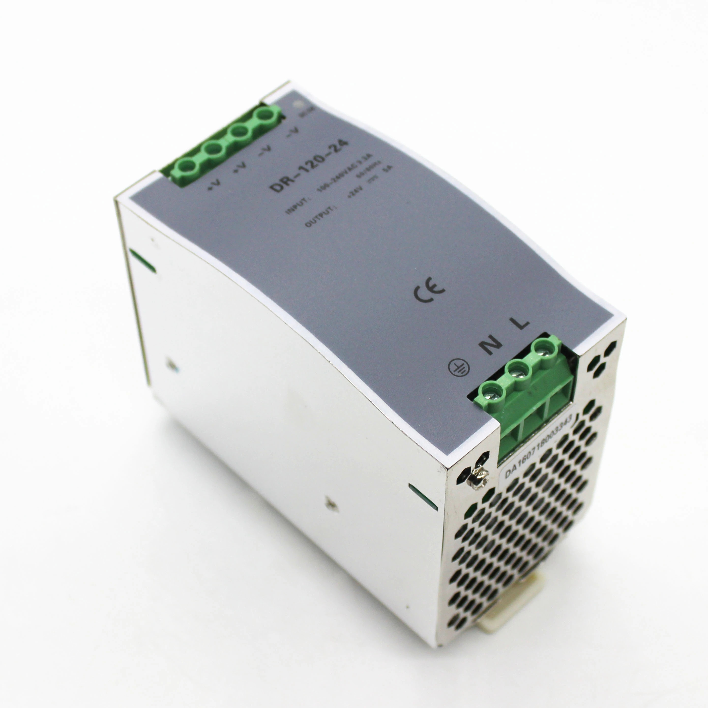 DR-120-24 DIN Rail 120W 24V Switching Power Supply