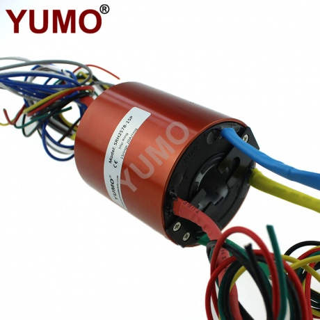 YUMO 15rings 20A/ring Electric Swivel Through Bore Slip Ring
